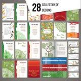 Big collection of random colorful cards. Big collection of random colorful cards and banners Stock Image