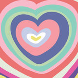 Big color heart Royalty Free Stock Photography