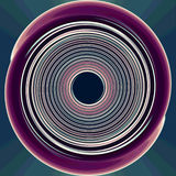 Big colored circle Royalty Free Stock Image