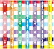 Big Colored Stripes Background Pattern Royalty Free Stock Images