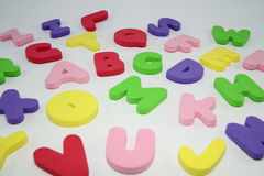 Big  Colorful Letters. Stock Photos