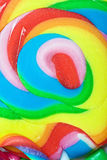 Big colorful lollipop Stock Photo