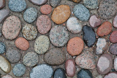 Big colorful pebbles Royalty Free Stock Photo