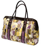 Big colorful women bag Royalty Free Stock Image