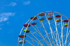 Big colourful ferris wheel Stock Photography