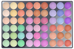 Big Colourful of Make Up Palette Royalty Free Stock Photo