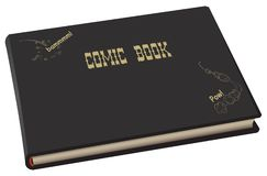 Big comic book royalty free illustration
