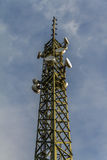 Big comm tower Royalty Free Stock Image