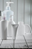 Big composition of skincare objects Stock Photography
