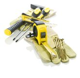 Big composition of tools Royalty Free Stock Photo