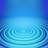 Big concentric ripple middle Stock Photos