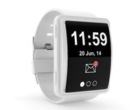 Big conceptual smart watch Royalty Free Stock Photo
