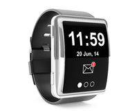 Big conceptual smart watch Royalty Free Stock Images