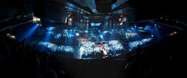 Big concert stock photos