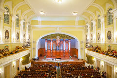 Big Concert Hall of Moscow Conservatory Stock Image