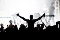Big concert Stock Photography