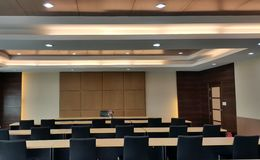 Big Conference room for effective business meeting Royalty Free Stock Images