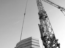 The Big Construction Crane Stock Photos