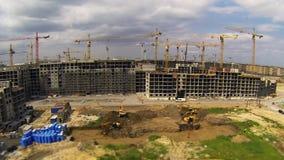 Big construction stock video footage