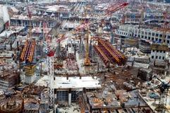 Big Construction Site stock photos