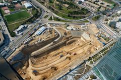 Big construction works Royalty Free Stock Photo