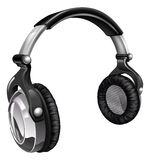 Big cool music headphones Stock Image
