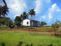 House Corn Island Nicaragua Central America stock photo