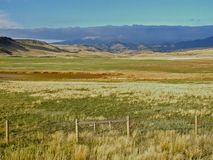 Big Country. This image was taken in central Montana near the Augusta area on the front range Royalty Free Stock Photo