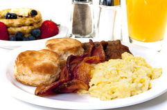 Big Country Breakfast Royalty Free Stock Images