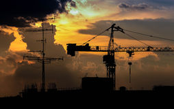Big crane Royalty Free Stock Images