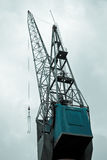 Big crane in port Stock Image