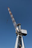 Big crane in the port of Genoa, Italy Stock Photos