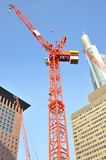 Crane on site Royalty Free Stock Photos