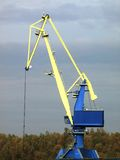 Big crane. To load cargo in port Royalty Free Stock Image