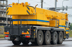 Big crane truck. Royalty Free Stock Photography