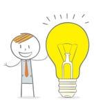 Big Creative Idea Stock Image