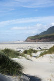 Big Creek Beach. A beautiful spring day on an Oregon coast beach in Lane County Stock Photography