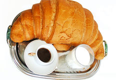 Big croissant Royalty Free Stock Image