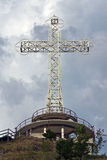 Big cross with belvedere point Stock Images