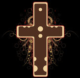 Big Cross, Colored Royalty Free Stock Photo