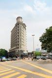 Big crossroads in Kuala Lumpur Royalty Free Stock Image