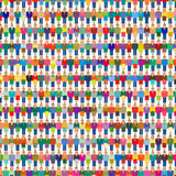 Big Crowd Group People Population Stock Photography