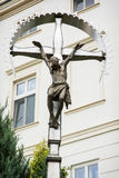 Big crucifixion of Jesus Christ Stock Photo