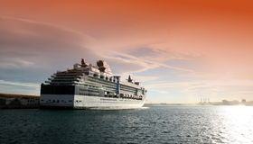 Big cruise Royalty Free Stock Images