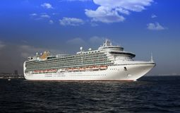 Big cruise Royalty Free Stock Photos