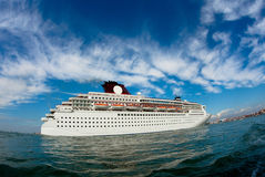 Big cruise Royalty Free Stock Image