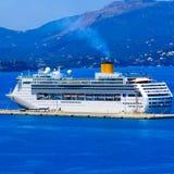 Big cruise boat Stock Image