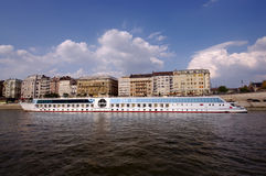 Long cruise ship Stock Photo