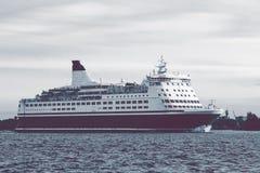 Big cruise liner Stock Image