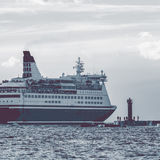 Big cruise liner Royalty Free Stock Images